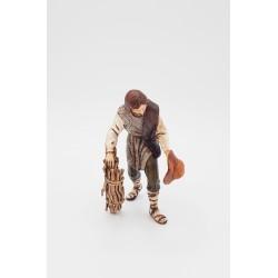 Viandante con legna cm 11