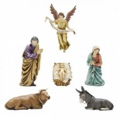 Nativity cm 13 of 6 pieces
