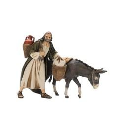 Wayfarer with donkey 13 cm