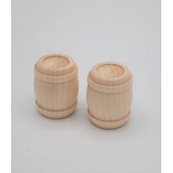 2 Botti legno