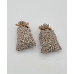2 jute bags