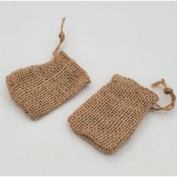 2 empty jute bags