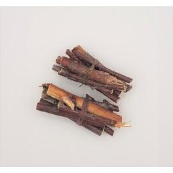 2 Wood charms