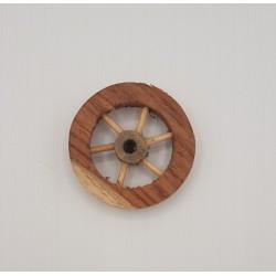 Ruota legno piccola