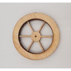 Ruota in legno grande