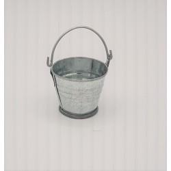 Small metal bucket