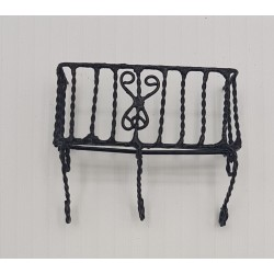 Small metal railing