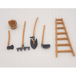 Garden tools for nativity...