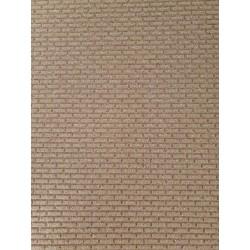 Brick effect cork panel