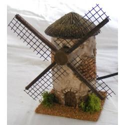 Wall effect resin windmill