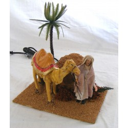 Camel with moving camel...