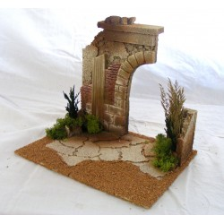 Hut with half arch suitable...