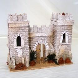 Facciata castello arabo per...