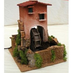 Big mill for nativity scene