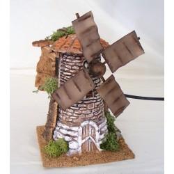 Mulino a vento in terracotta