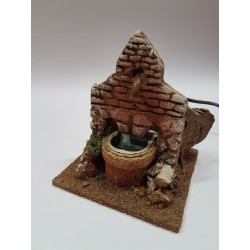 Terracotta fountain for...