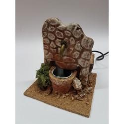 Fontana in terracotta...