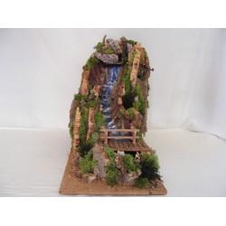 Straight waterfall large...