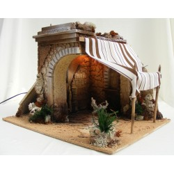 Large stable for nativity...