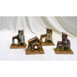 Medium houses for nativity...