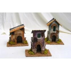 Big houses for nativity scene