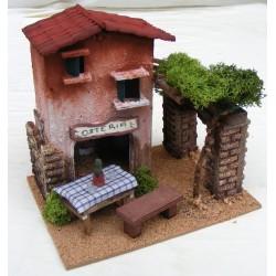 Hosteria for nativity scene