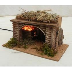 Small hut for nativity scene
