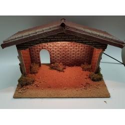 Medium hut for nativity...