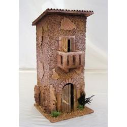 Mountain house with balcony...