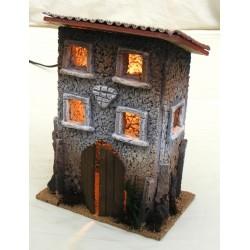 Casa piccola con finestre...