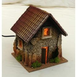 Casa piccola con tetto a...