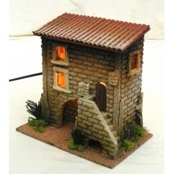 Casa con scala piccola per...