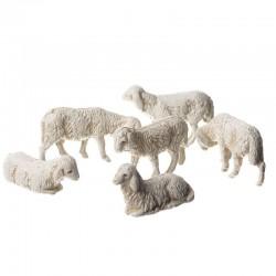 6 sheep envelope for creche...