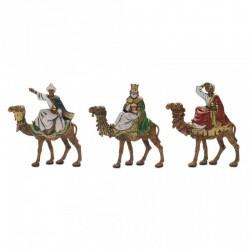 Magi kings on camel 6 cm
