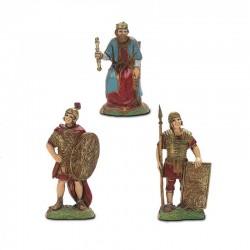 Re Erode e 2 soldati cm 6