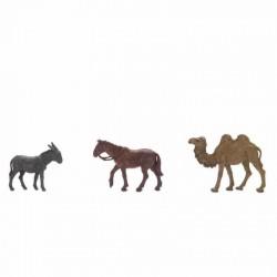 Cammello, Cavallo e Asino cm 6