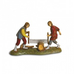 Woodcutters group 6 cm