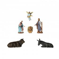 Nativity 6 subjects 6.5 cm