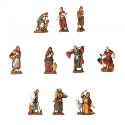 Set 10 Shepherds 6.5 cm