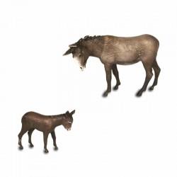 Donkey and Donkey 8 cm