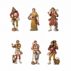 Statuettes 6 assorted...