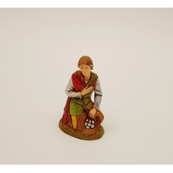 Farmer with gifts 10 cm