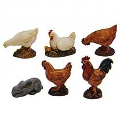 Set 6 Animali da Cortile...