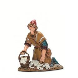 Arab shepherd kneeling 10 cm