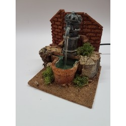 Nose fountain for nativity...