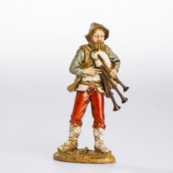 Bagpipe player 12 cm