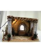 Nativity huts - Christmas Planet