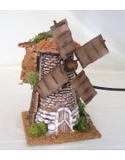 Windmills for nativity scenes - Christmas Planet